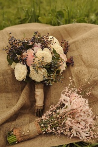 bouquet rustic chic