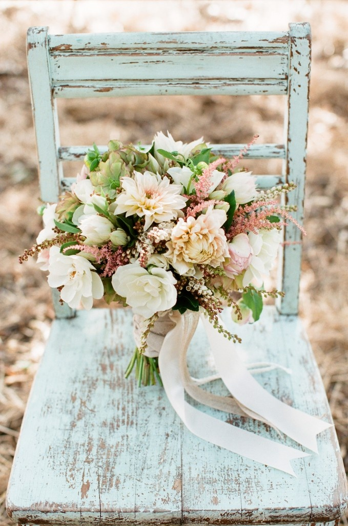 Vintage Rustic Victorian Garden Themed Wedding