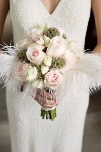 bridal bouquet gatsby