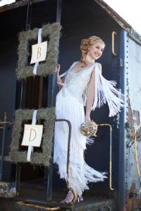 bridal dress gatsby