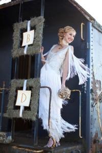 bridal dress gatsby
