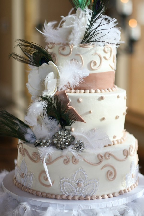 Gatsby Inspired Wedding Cakes