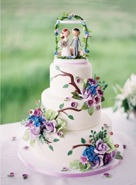 Faerie Wedding Cake Toppers