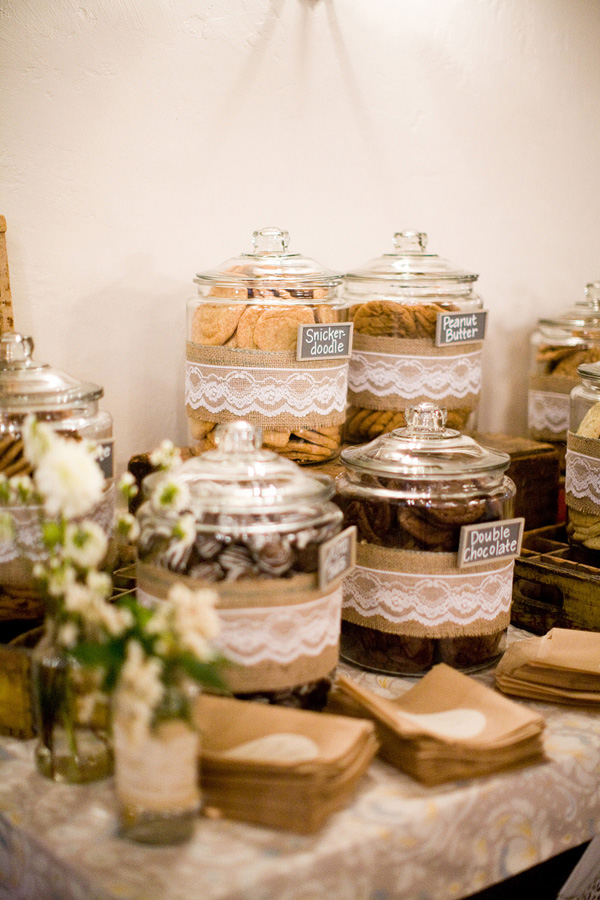 Sweeten Up Your Wedding Reception Dessert Tables And