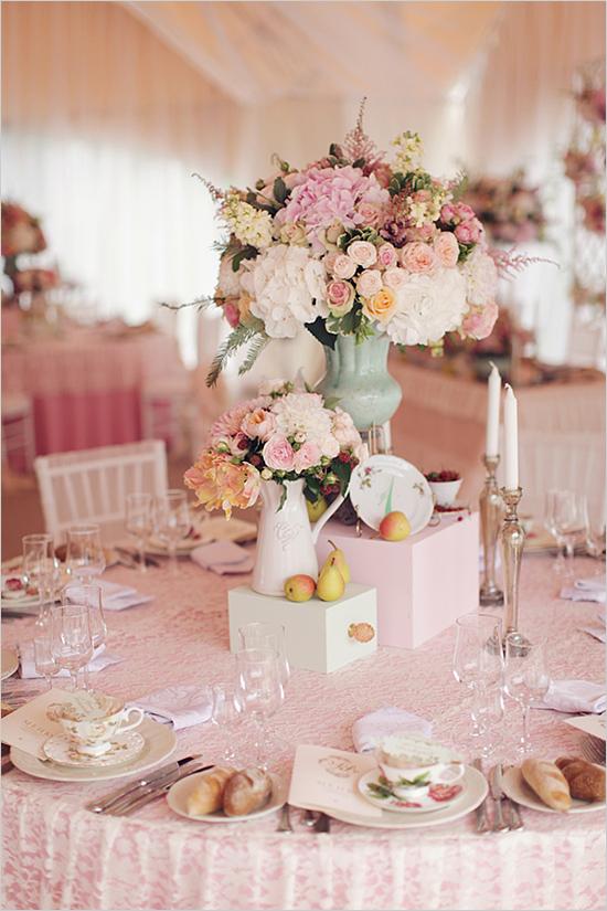 English Romance Elegant Vintage Garden Wedding Theme