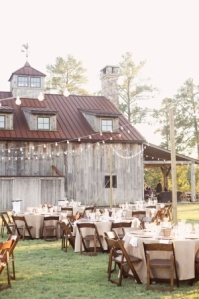 reception rustic