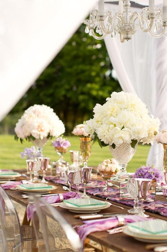 English romance elegant vintage garden wedding theme wedding blog macarons2 tablescape englishvintage4 macarons workwithnaturefo