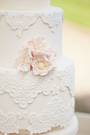 Vintage Lace Wedding Cakes Fashion Dresses