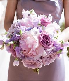 african violet bouquet