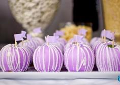 african violet favors