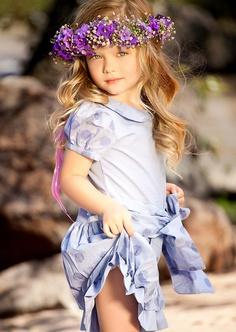 african violet flower girl