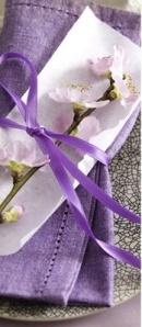 african violet wedding details6