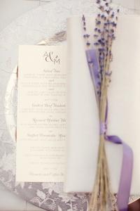 african violet wedding details7
