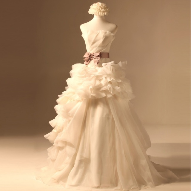 carnival bridal dress