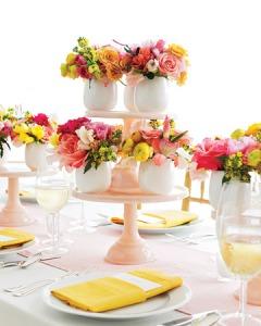 ceramic vase and flowers