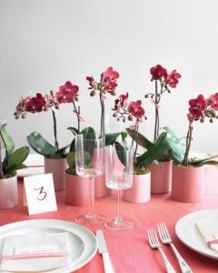 ceramic vase and flowers2