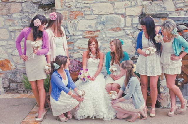 5 Fabrics for your Not-So-Typical Bridesmaid Dresses