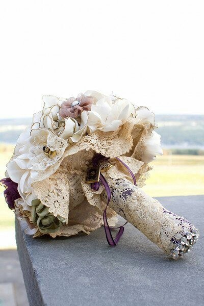 lace bouquet
