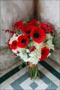 Poppy Red Bouquet