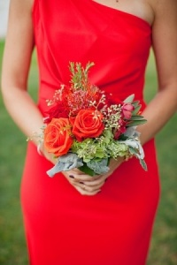 Poppy Red Bridesmaid