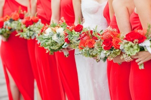 Poppy Red Bridesmaid2