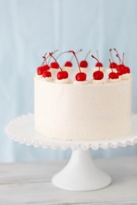 Poppy Red Cake