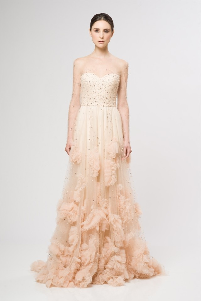 Blush Wedding Gown  Wedding Blog  Cherryblossoms And. Wedding Dresses With Gold Belt. Mermaid Wedding Dresses 2014 Vera Wang. Vintage Wedding Dresses Zurich. Simple Wedding Dresses Vow Renewal. Tea Length Wedding Dresses Designer. Vintage Inspired Wedding Dresses Portland Oregon. Corset Wedding Dresses With Straps. Cheap Wedding Dresses Short In Front Long In Back