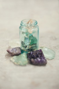 semi precious stones favor