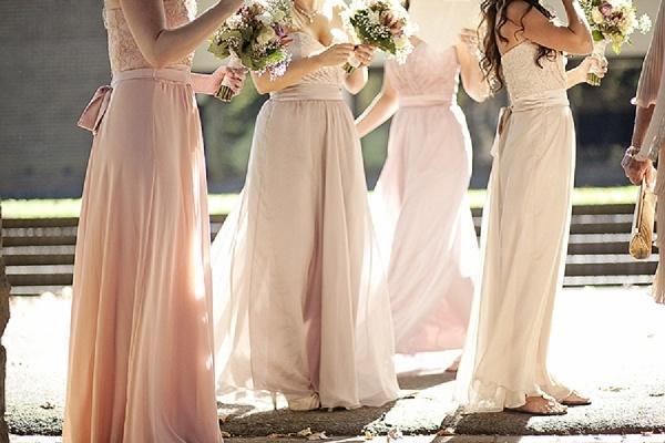shabby chic bridesmaids2