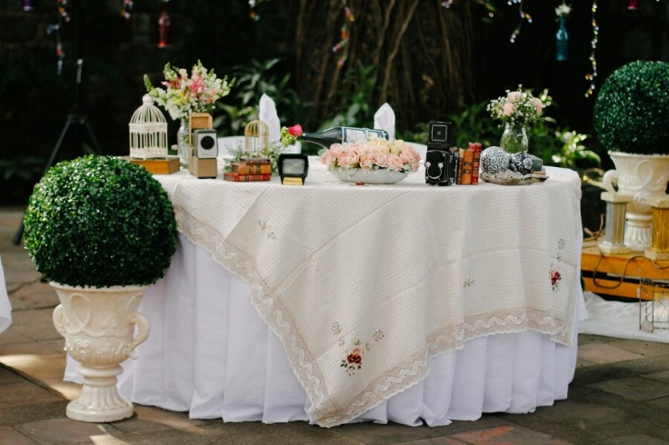 Sweet Vintage Shabby Chic Wedding Theme Wedding Blog