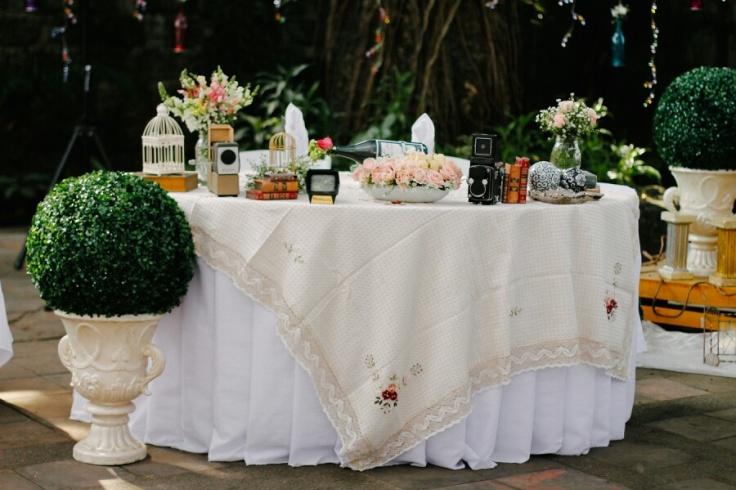 Sweet Vintage Shabby Chic Wedding Theme
