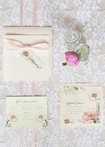 shabby chic invites