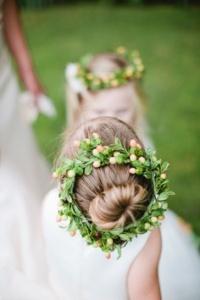 tuscan flowergirl