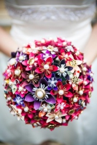 origami bouquet 2