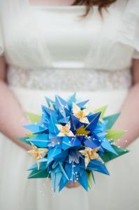 origami bouquet 3