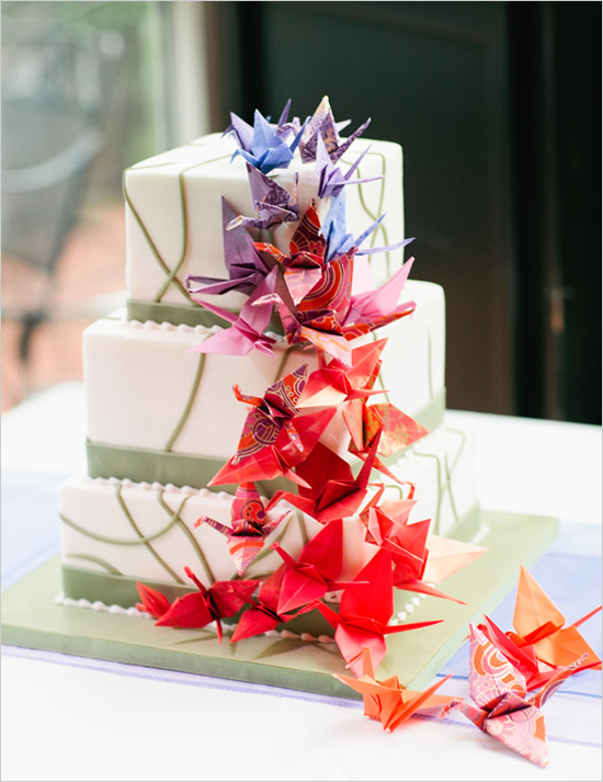 8 Fab Ways To Incorporate Origami Into Your Wedding Wedding Blog