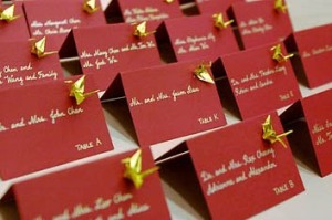 origami place card 2