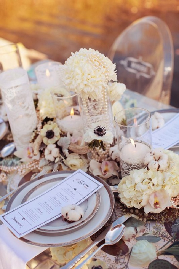 Lace and Pearls Wedding 7