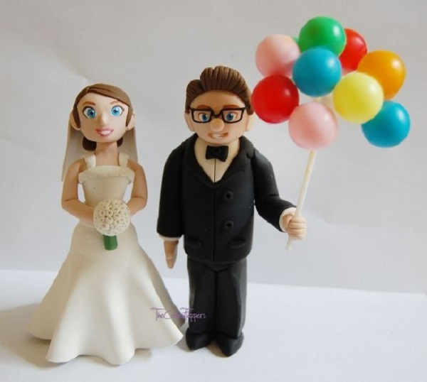 Carl And Ellie Cake Topper