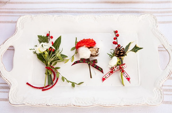 Christmas Inspired Wedding 12