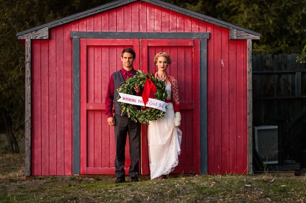 Christmas Inspired Wedding 13