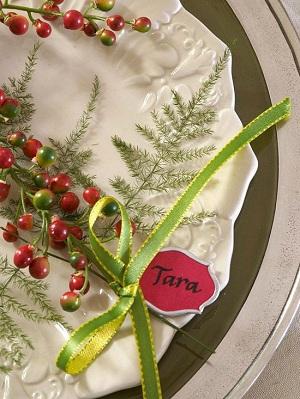 Christmas Inspired Wedding 7