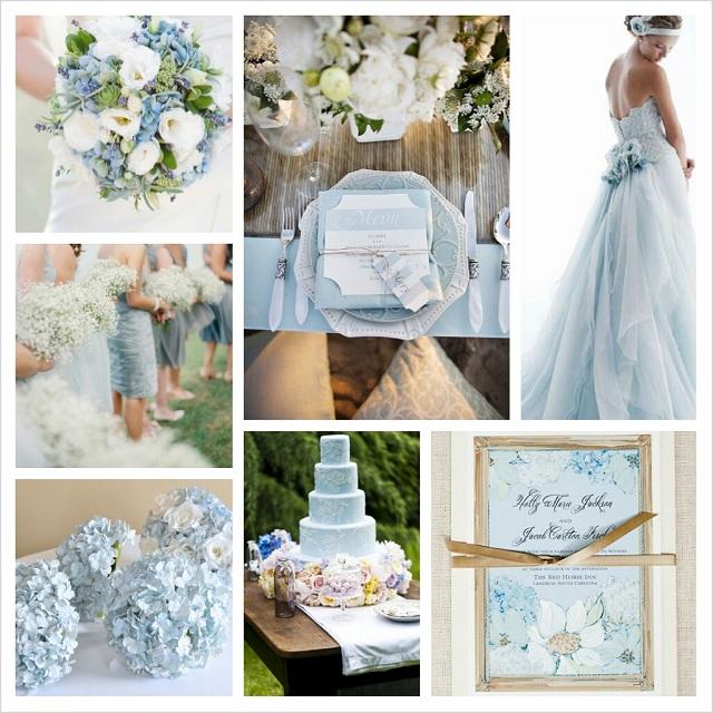 Spring Wedding Colors 2014: Pantone Spring 2014 Colors: Placid Blue Wedding