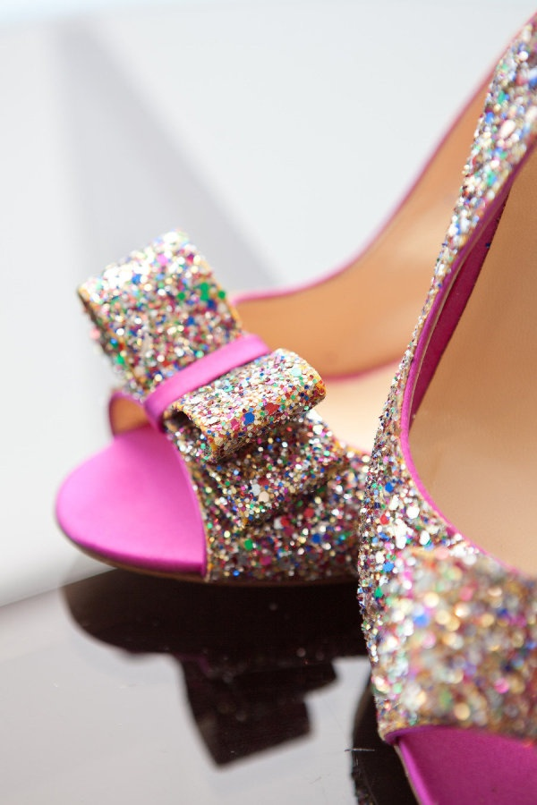 Sparkly Wedding Shoes 1