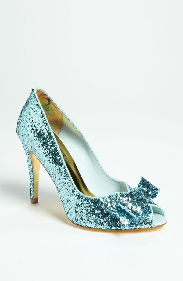 Sparkly Wedding Shoes 10
