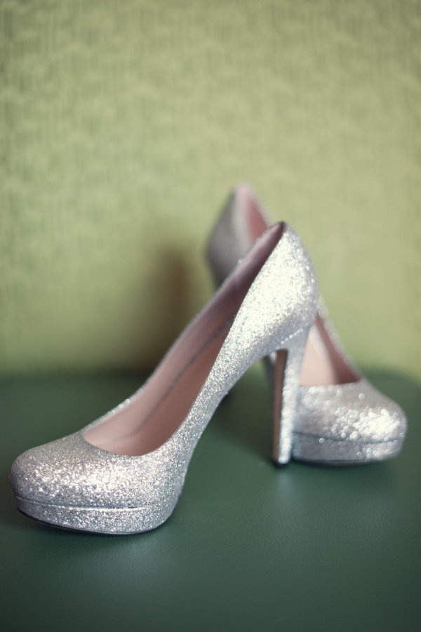 Sparkly Wedding Shoes 12