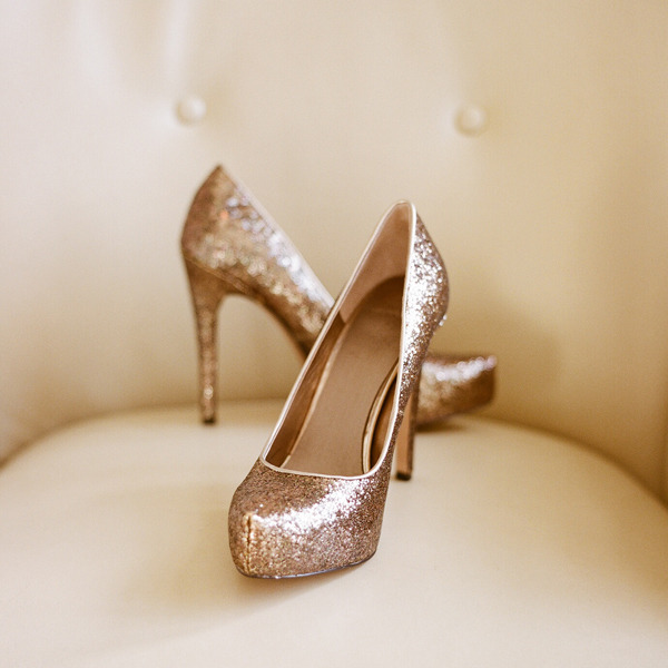 Sparkly Wedding Shoes 2