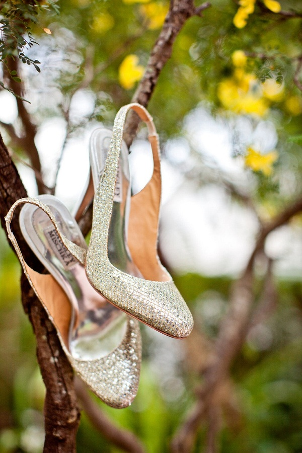Sparkly Wedding Shoes 8