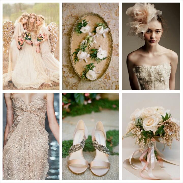 Spring Wedding Colors 2014: Pantone Spring 2014 Colors: Sand Wedding