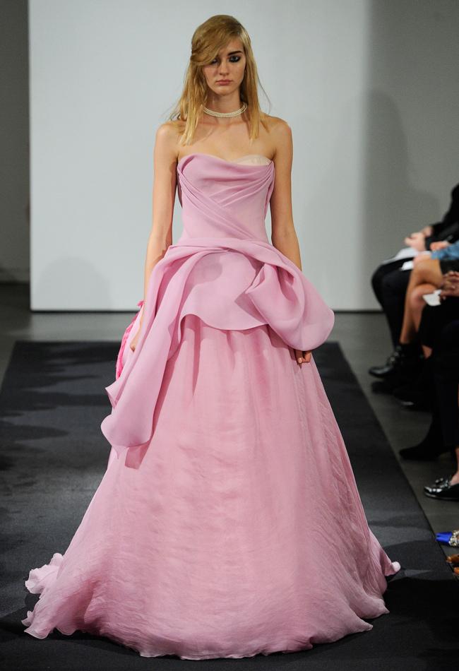 Bridal Fall 2014: Vera Wang - Wedding Blog | Cherryblossoms and ...